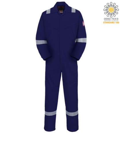 Anti-static and fire-resistant coverall