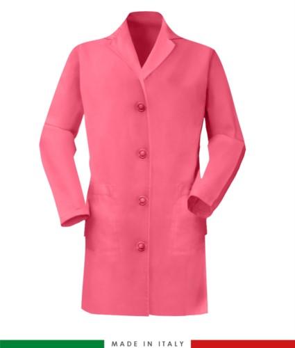 women long sleeved shirt 100% cotton Fuchsia