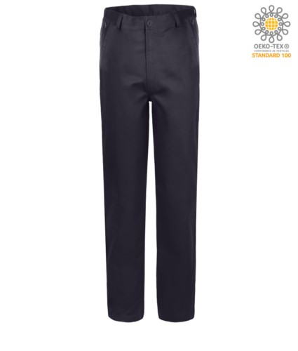 Elasticized working trousers
