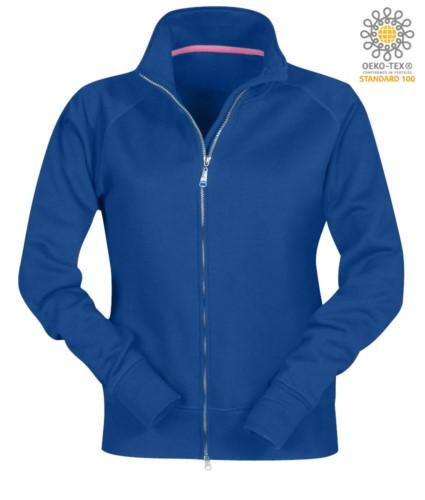 Full zip sweatshirt for women