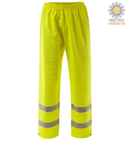 High visibility fire-resistant trousers