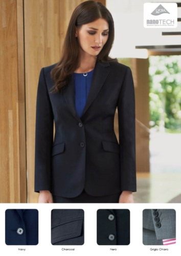 Elegant workwear and uniforms (promoters, receptionists, hoteliers).
