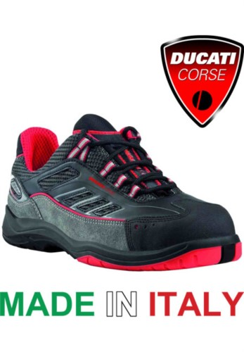 Low rise leather shoe S1P Ducati racing