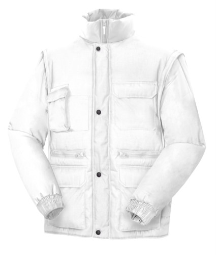 Multi Pockets Padded Jacket