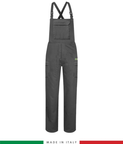 Multipro trousers, classic model, multi-pocket EN 11611, EN 1149-5, EN 13034, CEI EN 61482-1-2:2008, EN 11612:2009,colour grey