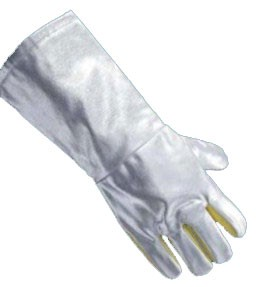 Approach gloves, reduce heat conduction, palm in para-aramid, abrasion resistant, length 45 cm