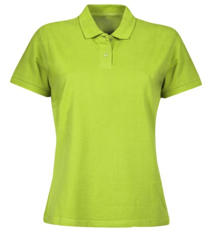 Short sleeve polo for women