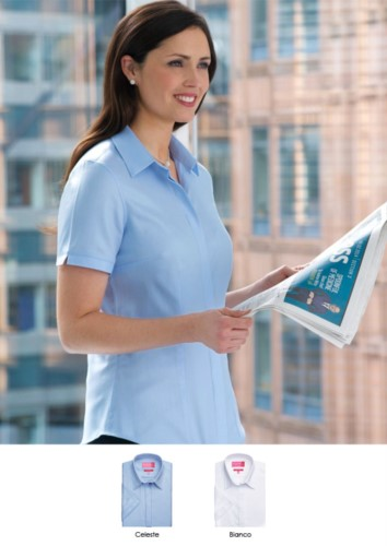 Elegant shirt for the work uniform (receptionist, hostess, hoteliers). Wholesale. Request a free quote.