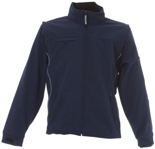 Soft shell waterproof jacket