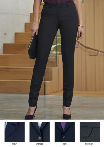 Elegant work trousers for elegant uniform in anti-fold fabric. Ideal for receptionists, hostesses, hoteliers. Wholesale.