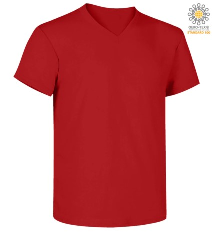 V-NECK T-SHIRT SHORT SLEEVE