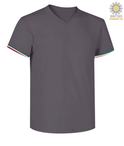 V-Neck t-shirt short sleeve