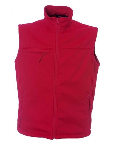 Waterproof and breathable soft shell waistcoat
