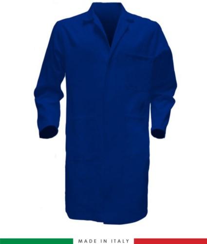 men work gown light blue 100% cotton